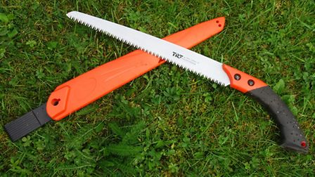 Pruning saws are ideal for coppicing