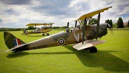 Tiger Moth pilot required
