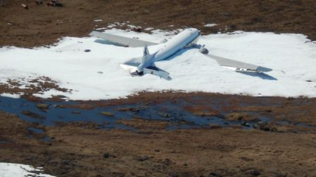 A Crashed DC3 in the deep north of Canada thorough research of destinations can produce many sights