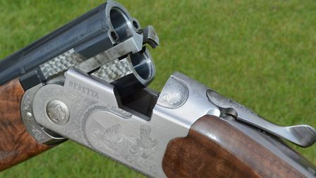The classic Beretta 600 series action is low profile