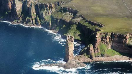 The Old Man of Hoy on Mull