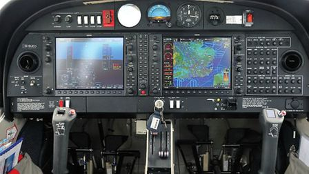Power inside the cockpit - Garmin displays can be switched to show almost any conceivable combinatio