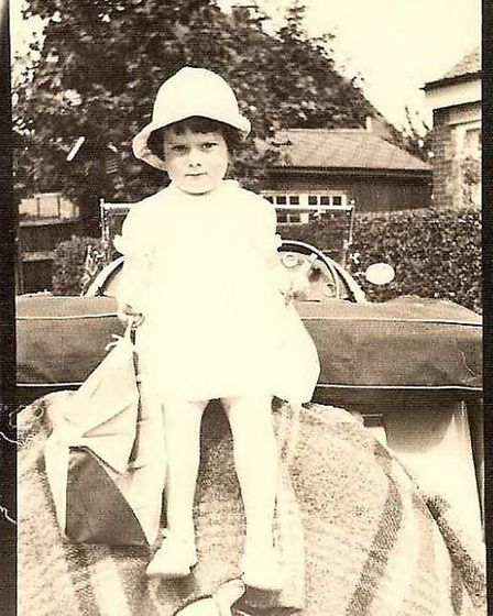 """""""I had a very lovely childhood, a very strict upbringing""""."""