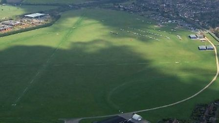 A real world situation with which you have to reconcile it (White Waltham aerodrome, viewed from the