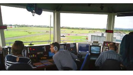 Busy, well-manned Air Traffic Control