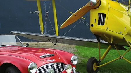 White Waltham has a magnetic draw on vintage and classic aircraft - and you'll often find old motors