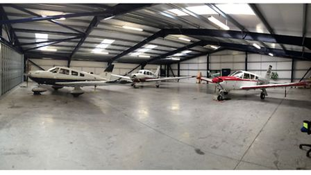 Hangarage available for rent at Cumbernauld Airfield
