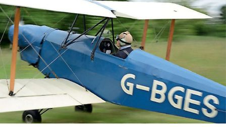 As taildraggers are especially prone to groundlooping, the landing is not over until the aeroplane h