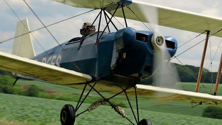 An essential taildragger pilot skill, side-slipping opens up a decent view and allows the approach t