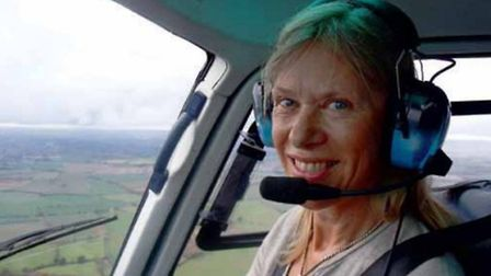 Annette, who now has over 1,000 hours in her logbook, finds helicopter flying especially rewarding