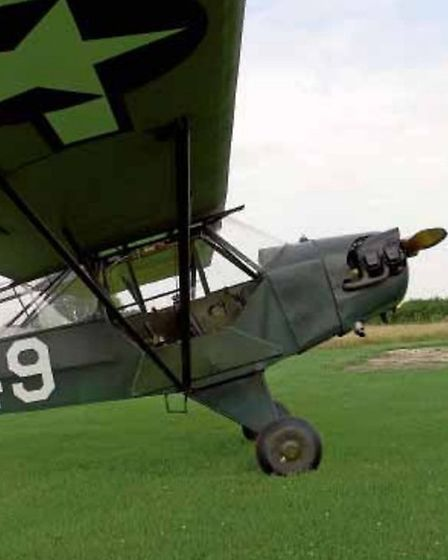 Having developed a taste for old aeroplanes, Nick Mason now has an L-4 Cub similar to this one, owne