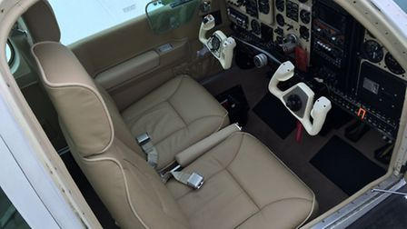 INTERIOR: Cream Leather seats and panels new 2014.....ultra clean