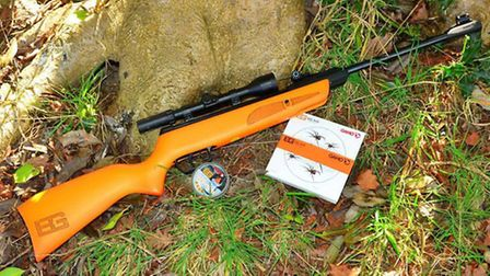 The Young Explorer rifle has the proper dimensions for a junior shooter