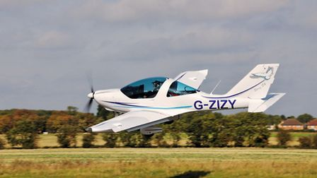 Off the ground in 200 metres
