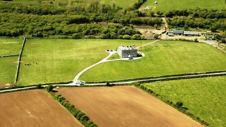 Seen from the air, 'Father Ted's house' - in real life Glanquin House - is home to the McCormack fam