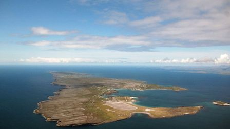 Northermost of the Aran Islands, Inishmore has a 520m paved runway and offers easier aircraft parkin