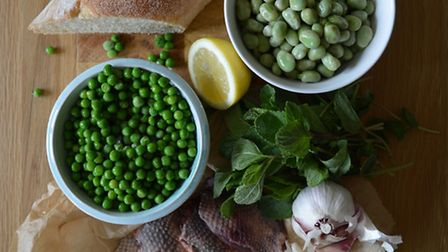 If you are able to use fresh peas and beans for the puree, then make the most of them while you can