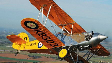The innovative, all-metal Fury was designed by Sydney Camm and overseen by Tommy Sopwith