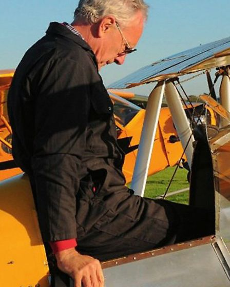 Drop-down door flaps ease cockpit egress and, when closed keep out the draught