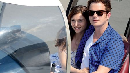 Richard's wife, singer Sophie Ellis Bextor, and the couple's small children are regular passengers o