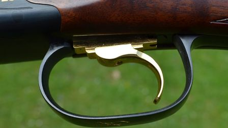 The single trigger offers improved pulls and Goldfinger styling!