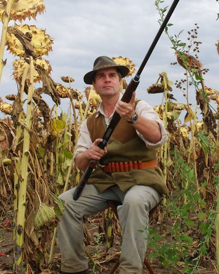 A Beretta 303 has accompanied Mike on pigeon shooting trips all over the world