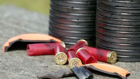 There are rules regarding cartridges that must be followed when shooting at clay grounds