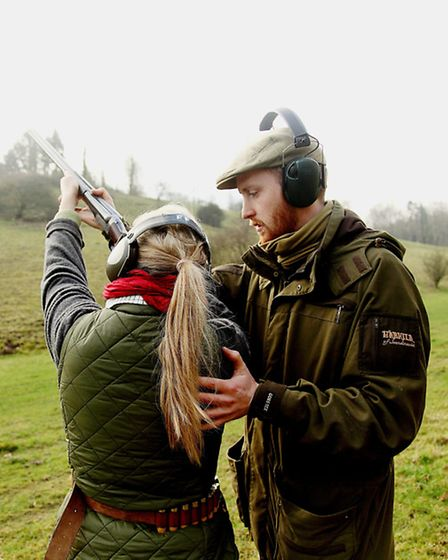 Image supplied by Four Feathers Shooting School