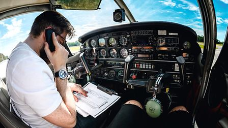 Domestic VFR flight planning made easy. When you call 1800-WX-BRIEF the operators will be expecting