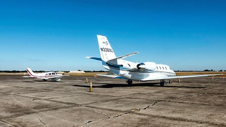 Walking out to fly home from St Augustine Warrior or Citation, most FBOs will be just as welcoming.