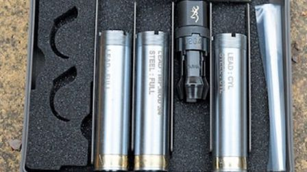 Quarter or half chokes are, for most shooters, the best choice for game and clays