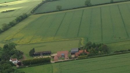 Situated 1 mile West of Great Massingham, N W Norfolk