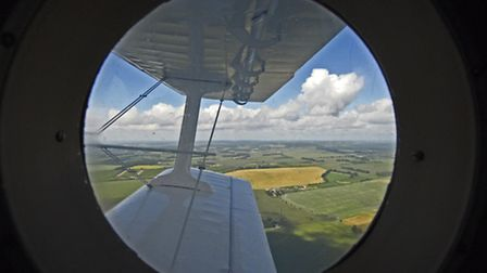 A passenger's view from cabin (PHOTOS: PHILIP WHITEMAN)