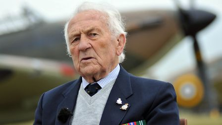 One of the Battle of Britain veterans who were honoured guests at the 18 August Hardest Day commemor