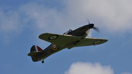 During the Battle of Britain the RAF's main fighter type was the Hawker Hurricane