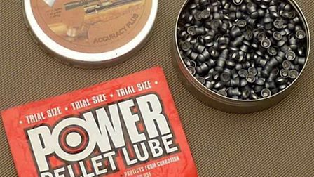 Lubricating pellets can help to improve accuracy