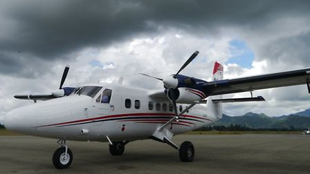 P2-MFT Twin Otter in PNG