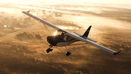no small part of the pleasure of the experience comes from flying an aircraft that looks so 'right'
