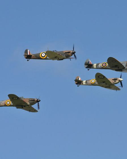 'New rules may be introduced for formation flying' PHOTO: PHILIP WHITEMAN