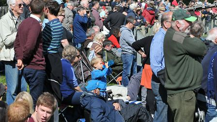 'Air displays are the second most popular type of UK spectator event after football' PHOTO: PHILIP W