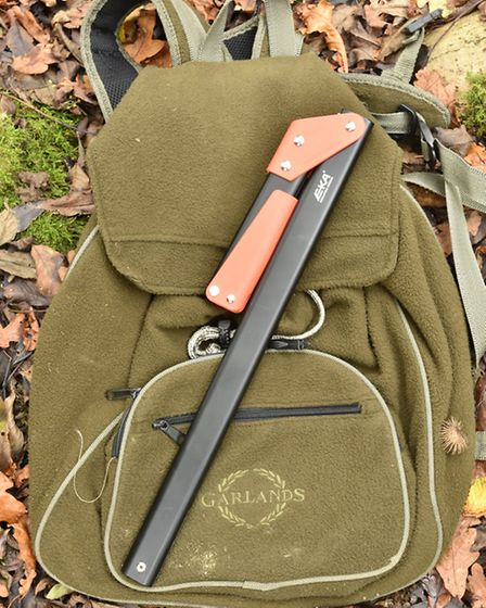 Once folded it fitted into my back pack easily and safely