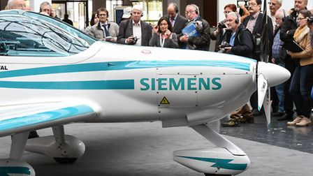 Also powered by a Siemens electric motor, the Magnus eFusion