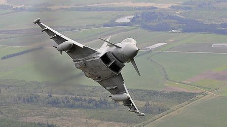 Defence Images 'RAF Typhoon over Lithuania', Flickr CC 2.0