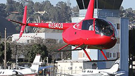 FAA Approves Robinson R44 Cadet Helicopter