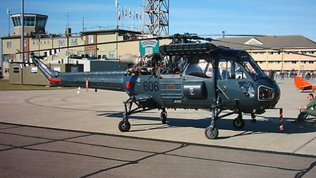 The Westland Wasp helicopter will be making a special appearance to Bournemouth Aviation Museum