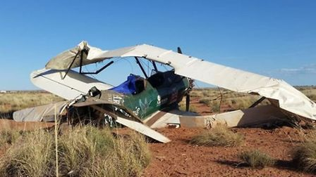 Adventurer Tracey Curtis-Taylor survives forced landing in the Arizona Desert