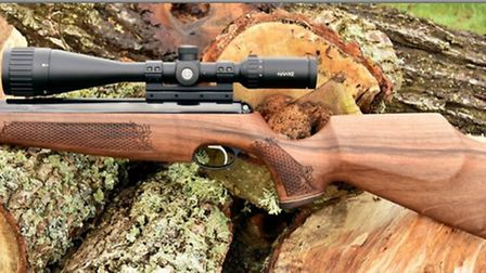 It's a handsome rifle in its natural environment