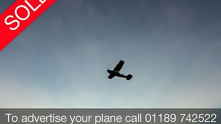 To advertise your aircraft please call 01189 742 522