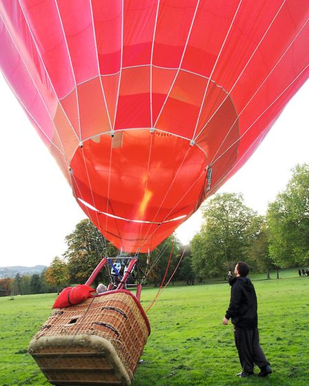 Ever thought of going Ballooning? Photo: Jenny Ross