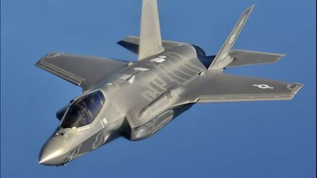 F-35 'U.S. Air Force photo by Master Sgt. Donald R. Allen'